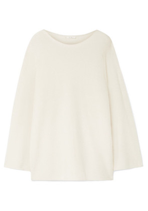 The Row - Clyde Oversized Cashmere And Silk-blend Sweater - Ivory