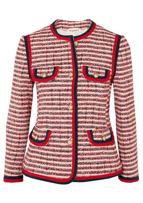 Gucci - Tweed Jacket - Red