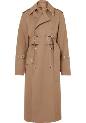 Acne Studios - Oversized Cotton-twill Trench Coat - Camel