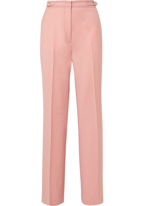 Gabriela Hearst - Vester Wool-blend Wide-leg Pants - Blush