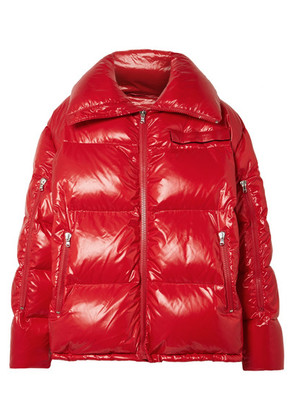 CALVIN KLEIN 205W39NYC - Oversized Quilted Coated-shell Jacket - Red