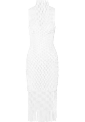 Dion Lee - Lory Laser-cut Jersey Midi Dress - White