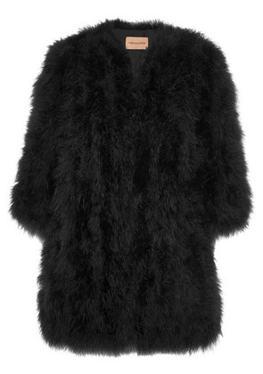 Yves Salomon - Feather Jacket - Black