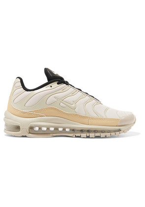 Nike - Air Max 97 Plus Neoprene, Leather And Mesh Sneakers - Cream