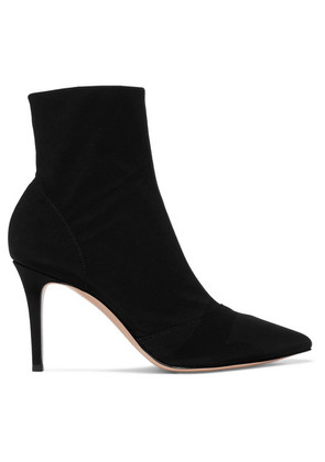 Gianvito Rossi - 85 Stretch-shell Sock Boots - Black