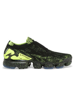 Nike - + Acronym Air Vapormax Moc 2 Printed Flyknit Sneakers - Black