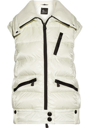 Moncler Grenoble - Les Bains Quilted Down Vest - Ivory