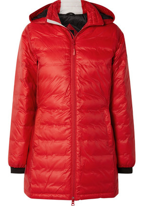Canada Goose - Camp Hooded Quilted Shell Down Jacket - Red