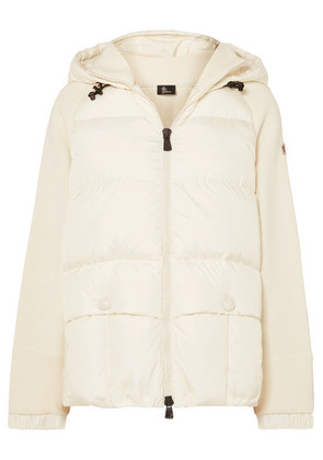 Moncler Grenoble - Quilted Down Jacket - White