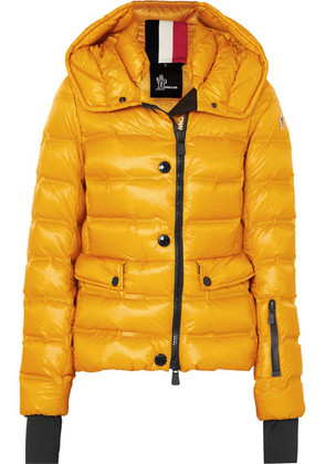 Moncler Grenoble - Armotech Quilted Shell Down Jacket - Yellow