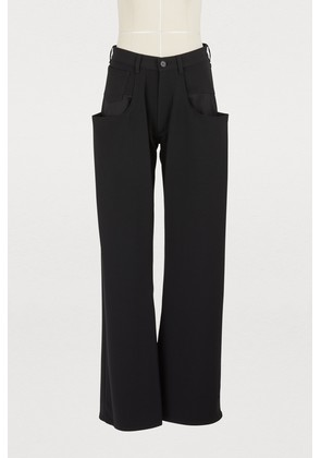 Oversize pockets trousers