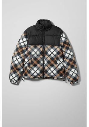 Cole Checked Jacket - Black