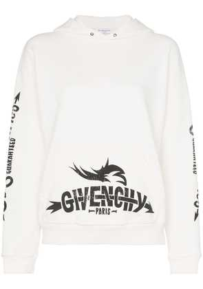 Givenchy Logo cotton hoodie - Neutrals