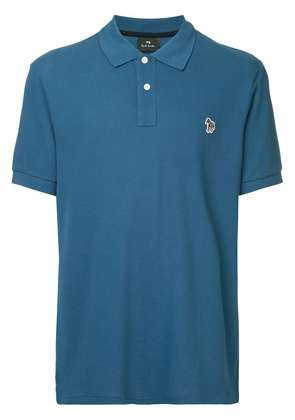 Ps By Paul Smith logo polo shirt - Blue