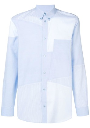 Givenchy long-sleeve fitted shirt - Blue