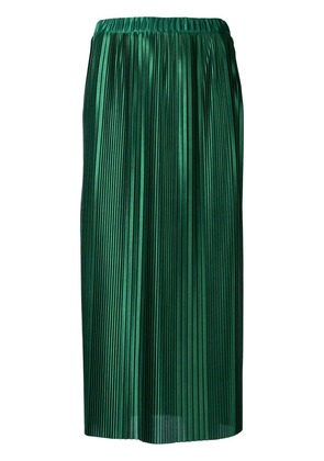Givenchy pleated maxi skirt - Green