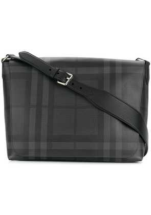 Burberry checked crossbody bag - Black