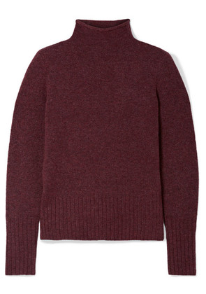 Madewell - Inland Knitted Turtleneck Sweater - Burgundy
