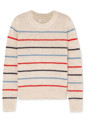 Isabel Marant Étoile - Gian Striped Alpaca And Wool-blend Sweater - Ecru