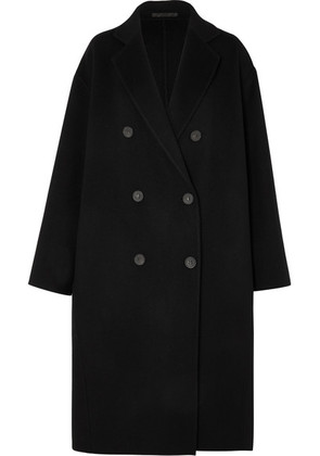 Acne Studios - Odethe Double-breasted Wool And Cashmere-blend Coat - Black