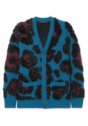 Marc Jacobs - Jacquard-knit Cardigan - Blue