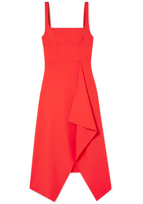 Dion Lee - Stretch-crepe Midi Dress - Red