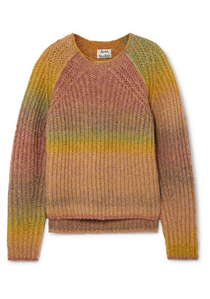 Acne Studios - Kyla Ribbed-knit Sweater - Yellow