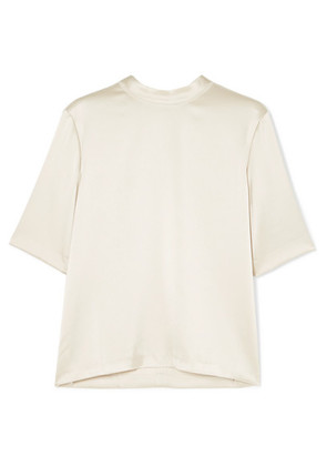 Nanushka - Kaden Satin Top - Cream