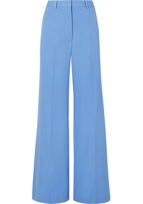 Stella McCartney - Dolce Wool-twill Wide-leg Pants - Blue