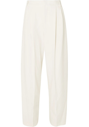 Joseph - Linn Crepe Tapered Pants - Ecru