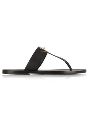 Gucci - Marcy Horsebit-detailed Leather Sandals - Black