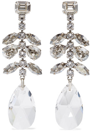 Isabel Marant - Silver-tone Crystal Earrings - one size