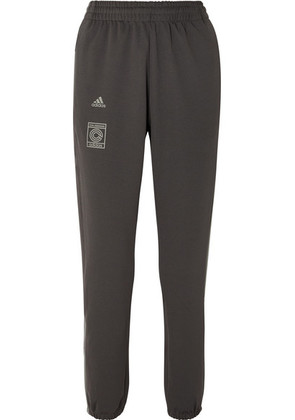 adidas Originals - + Yeezy By Kanye West Calabasas Striped Jersey Track Pants - Gray