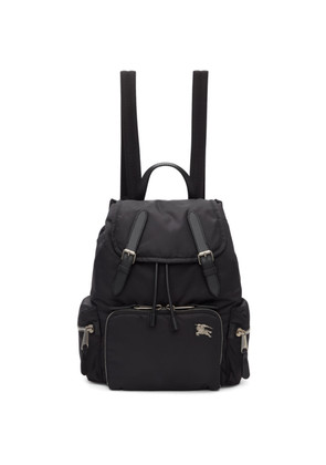 Burberry Black Medium Puffer Crossbody Backpack