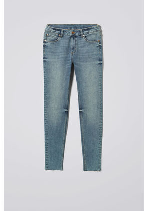 Him Spray Blue Stain Jeans - Blue