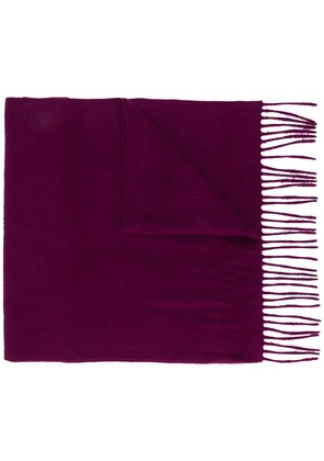 N.Peal Large woven scarf - Pink