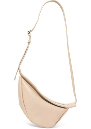 The Row - Slouchy Banana Small Leather Shoulder Bag - Beige