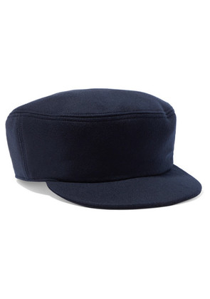 Isabel Marant - Naly Wool And Cashmere-blend Cap - Navy