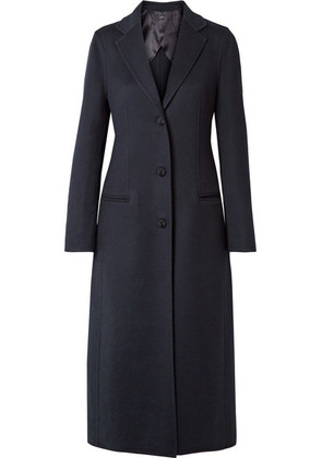 Joseph - Archi Brushed Wool And Silk-blend Coat - Navy