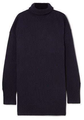 Joseph - Wool Turtleneck Sweater - Navy