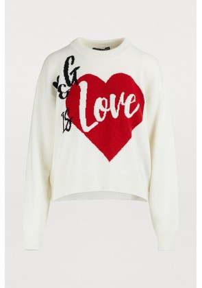 D & G is love cashmere sweater