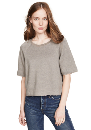 James Perse Boxy Sweat Top