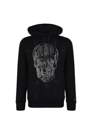 PHILIPP PLEIN Skull Hooded Sweatshirt