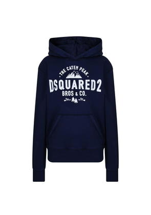 DSQUARED2 Children Boys Caten Peak Hooded Sweatshirt