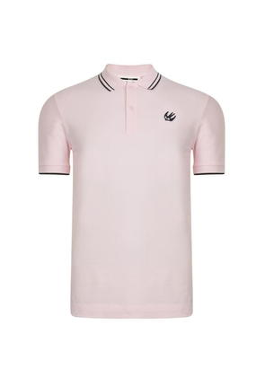 MCQ ALEXANDER MCQUEEN Swallow Short Sleeve Polo Shirt
