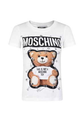 MOSCHINO Teddy Slim Crew T Shirt