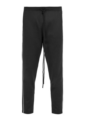 Valentino - Tapered Leg Track Pants - Mens - Black