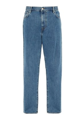 Burberry - Stonewashed Relaxed Leg Jeans - Mens - Blue
