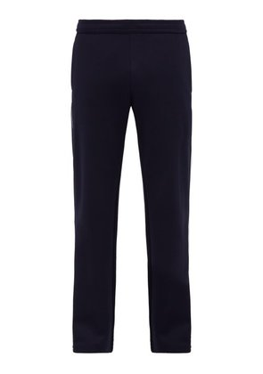 Valentino - Tri Stripe Zip Cuff Track Pants - Mens - Navy