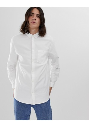 Weekday Bad Times shirt in white